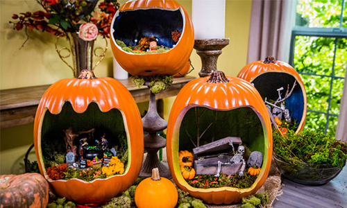 Cristina Crafts DIY Pumpkin Die Oramas Home Amp Family