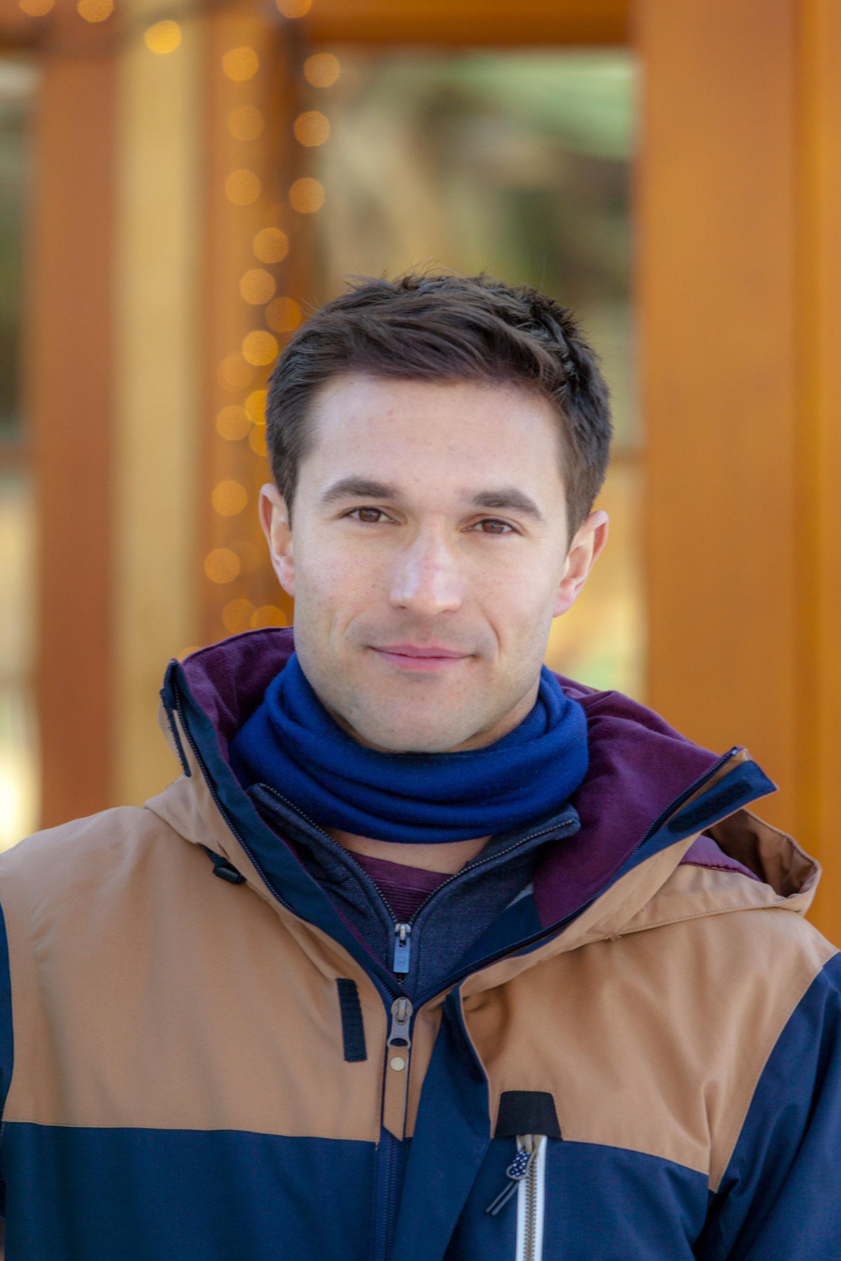 Jack Turner as Ben on One Winter Weekend  Hallmark Channel