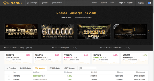 small resolution of binance landing page