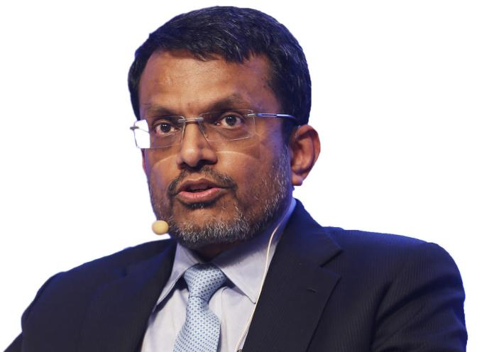 Ravi Menon, Managing Director of the Monetary Authority of Singapore. (Photo credit: Reuters file photo.)