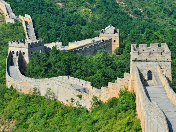 The Great Wall of China, not just useful for keeping out barbarians.