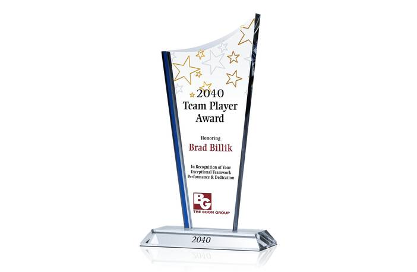 Crystal Drive Teamwork Award