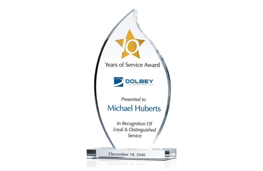 Flame Employee Service Awards