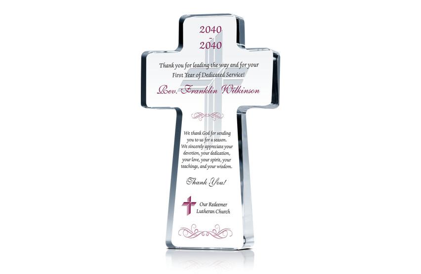 1st Anniversary Gift for Pastor