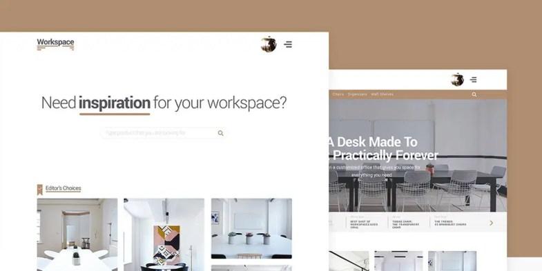 Workspace Free E-commerce Web Template Kit Бесплатные шаблоны для интернет-магазина psd - Workspace Free E commerce Web Template Kit - Бесплатные шаблоны для интернет-магазина PSD