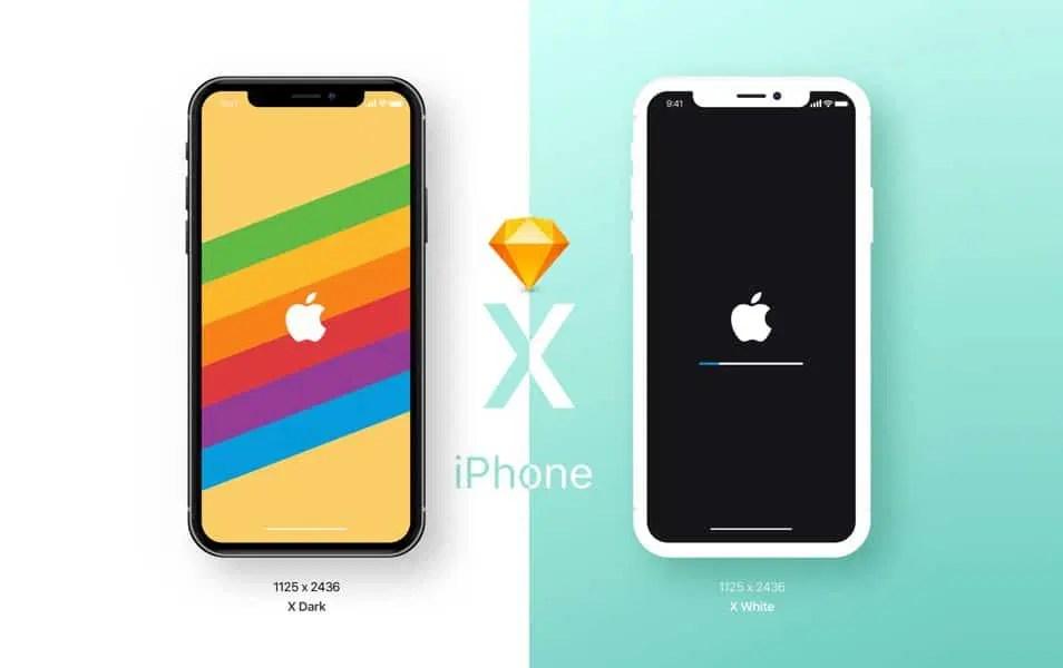 iPhone X Mockup Freebie