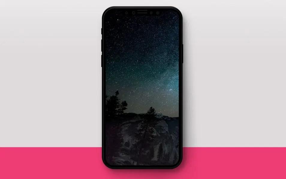iPhone X Mockup PSD Freebie