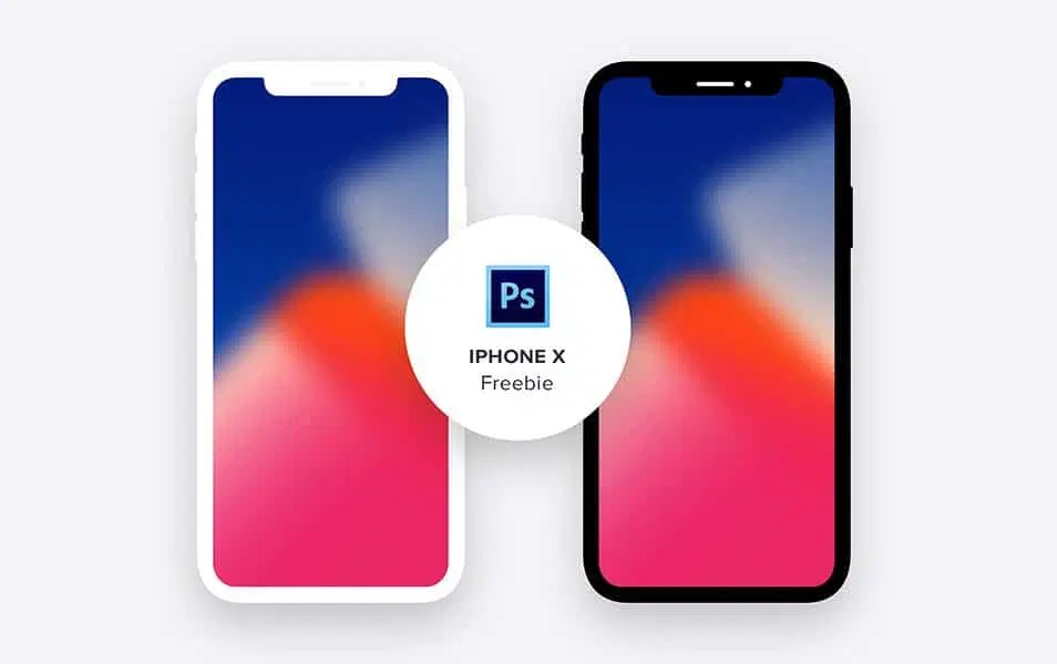 iPhoneX – Minimal Freebie (PSD)