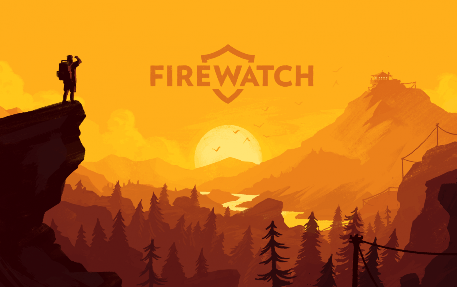 Cult of Android  Firewatch could be the prettiest mystery