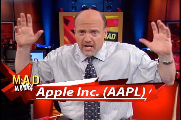 apple shares up sharply