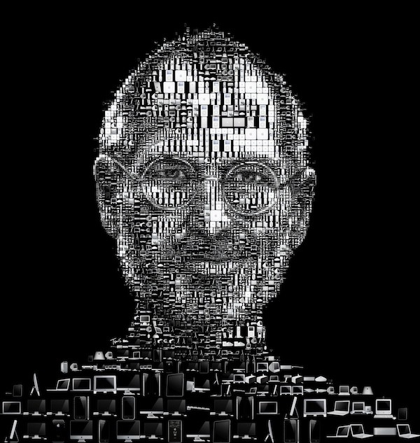 Check Out This Cool New Mosaic Poster of Steve Jobs  Cult