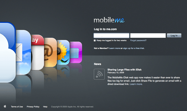 Report: Apple To Relaunch MobileMe Next Month   Cult of Mac