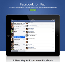 Facebook Ipad Pops Official Site App Incoming