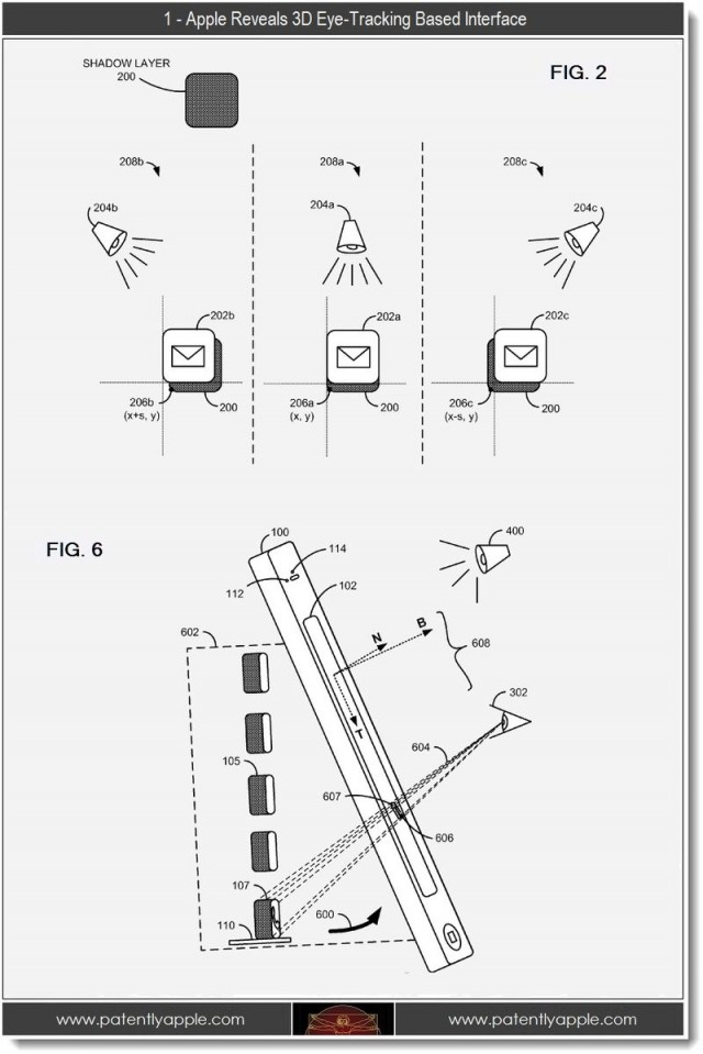 New Apple Patent Confirms Its Work On 3D iOS Devices