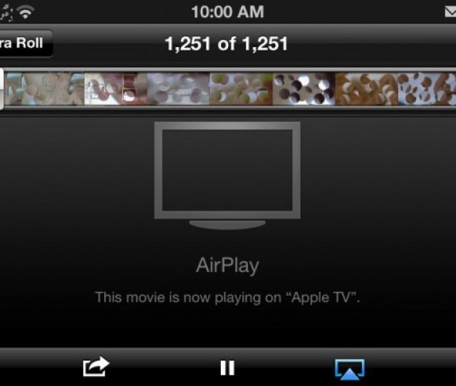 Its Censored But Its Porn Streaming Over Airplay