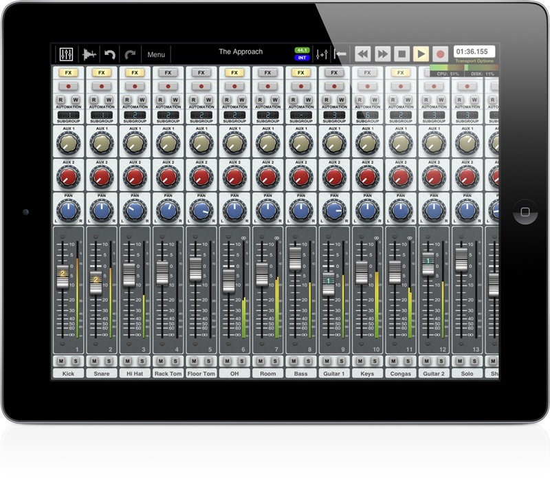 Auria Turns iPad Into 48Track Recording Studio  Cult of Mac