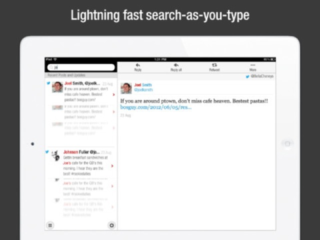CloudMagic For iPad Searches Across Mail, Evernote
