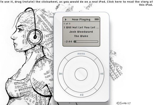 You Can Now Transform Your Browser Into A Virtual iPod