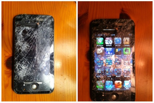 Cult of Mac Readers iPhone Drops 200 Feet Onto Concrete