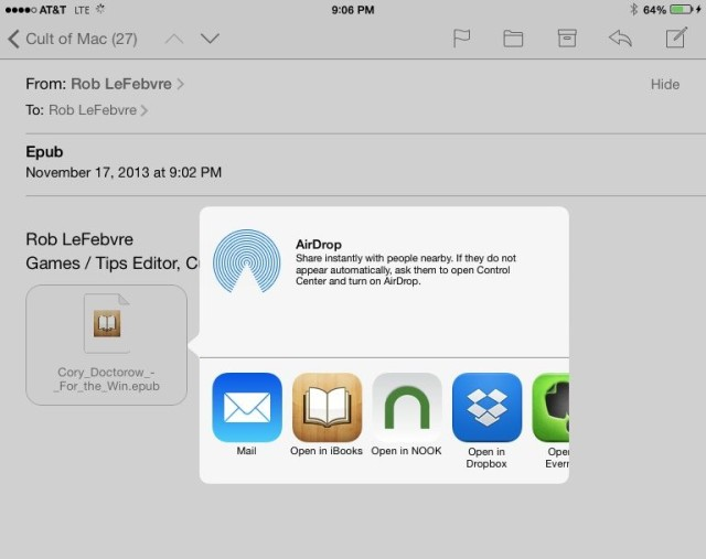 How To Add Epub Books To Your Ipad Without Itunes [ios