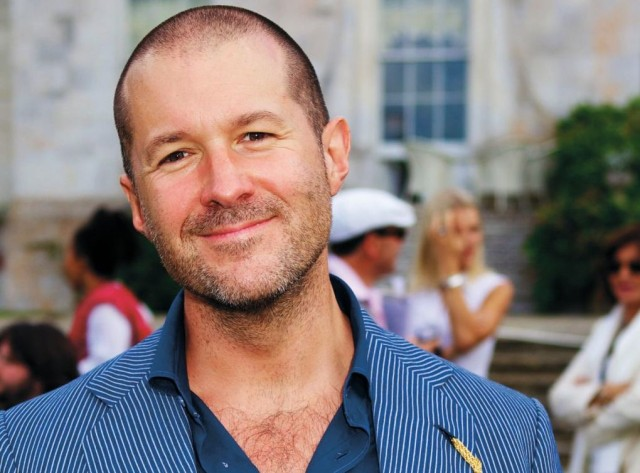 The world's most famous designer, Jony Ive. Photo: Apple