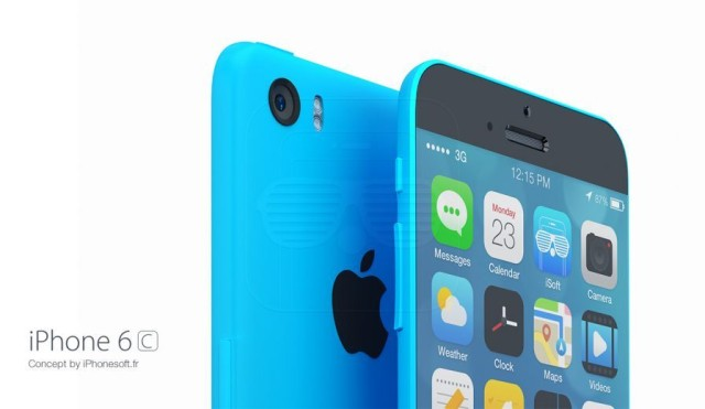 An iPhone 6c concept.