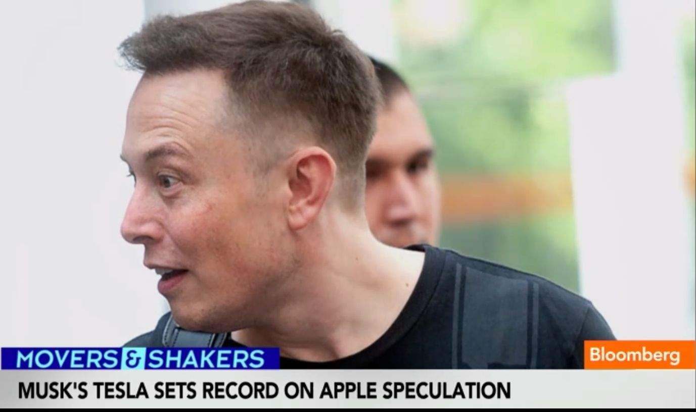 Elon Musk Says Apple Acquisition Of Tesla Very Unlikely
