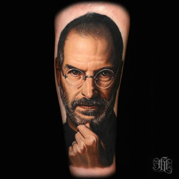 This awesome Steve Jobs tattoo is the most lifelike weve