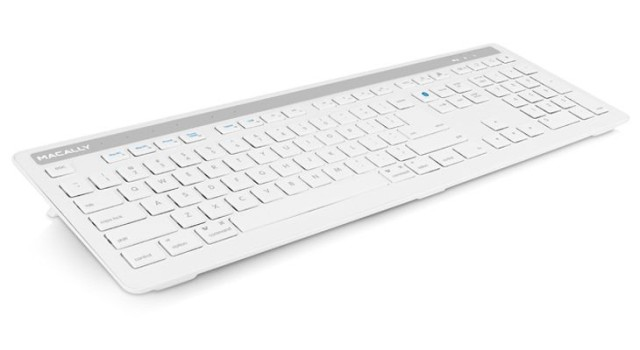 Macally Keyboard Pairs With Five Bluetooth Devices, Plus