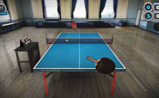 Table Tennis Touch Captures All Of The Fun Of Ping Pong
