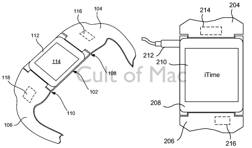 Apple patent describes Pebble-style iTime smart watch