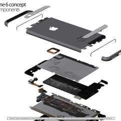 Iphone 4s Parts Diagram Fiat Spider Wiring This Is The 6 In All Its Glory Cult Of Mac