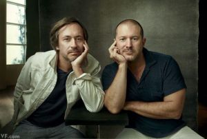 Marc Newson and Jony Ive Photo: Vanity Fair