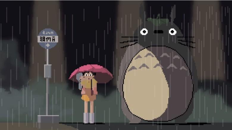 Iphone X Moving Wallpaper 8 Bit Miyazaki Tribute Film Will Fill You With Nostalgia
