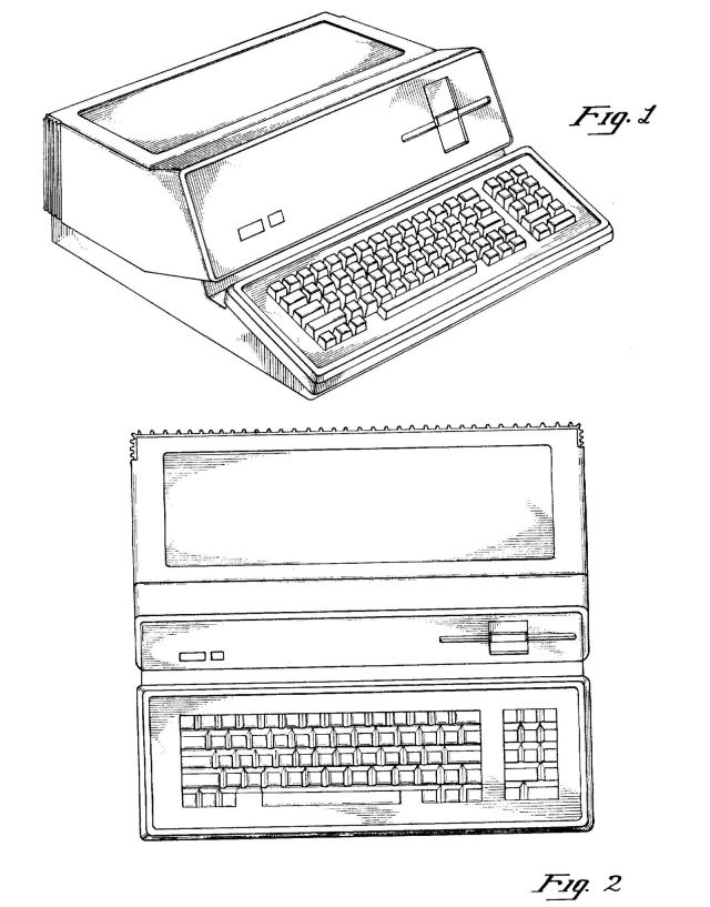 Steve Jobs's first patent for a