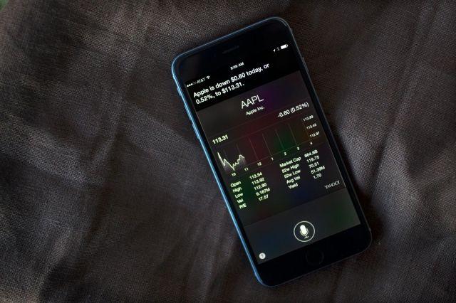 Siri can help you track your stocks. Photo: Jim Merithew/Cult of Mac
