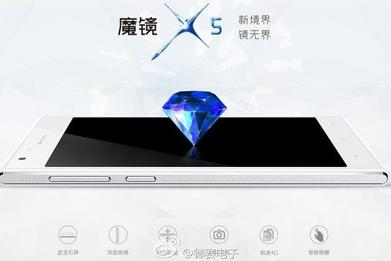 Could this be our first look at the iPhone 6s's sapphire display? Photo: Desay