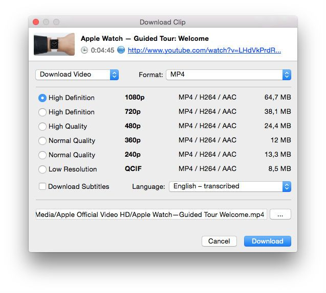 4K Video Downloader makes it easy to grab YouTube videos