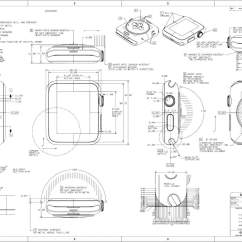 Diagram Of A Nerd 1970 Mobile Home Wiring Design Nerds Will Love This Beautiful Apple Watch Schematic