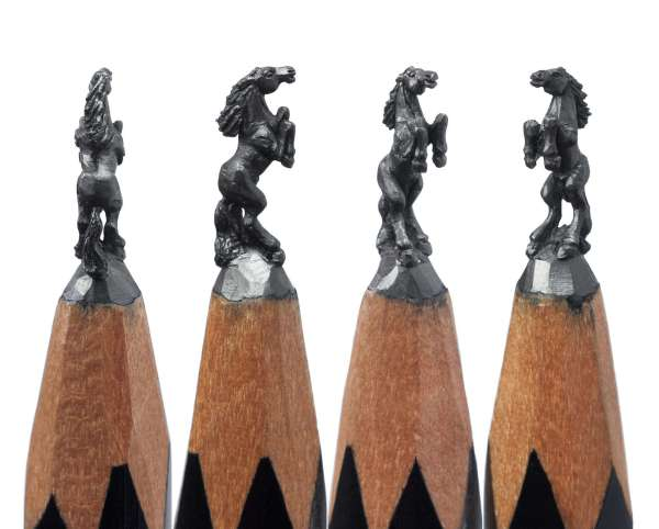 Pencil Sculpture Art