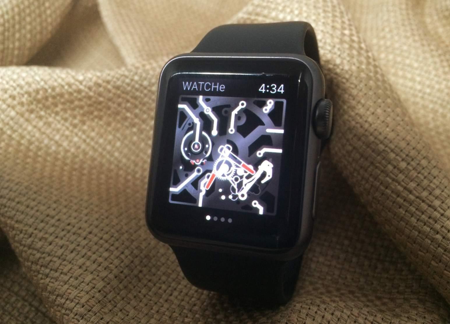 WATCHe app makes Apple Watch look oldfangled | Cult of Mac