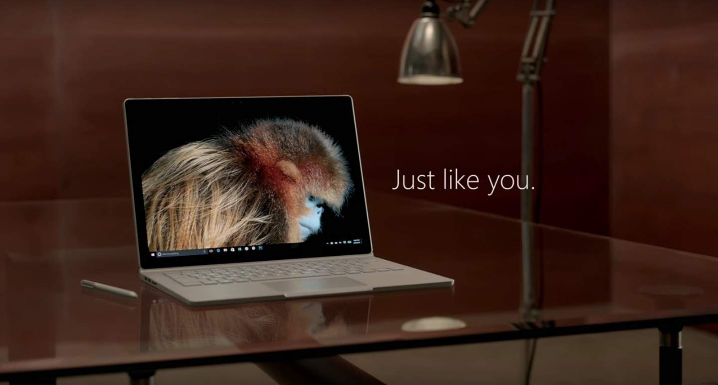 Microsoft skewers Mac with new Surface Book ads  Cult of Mac