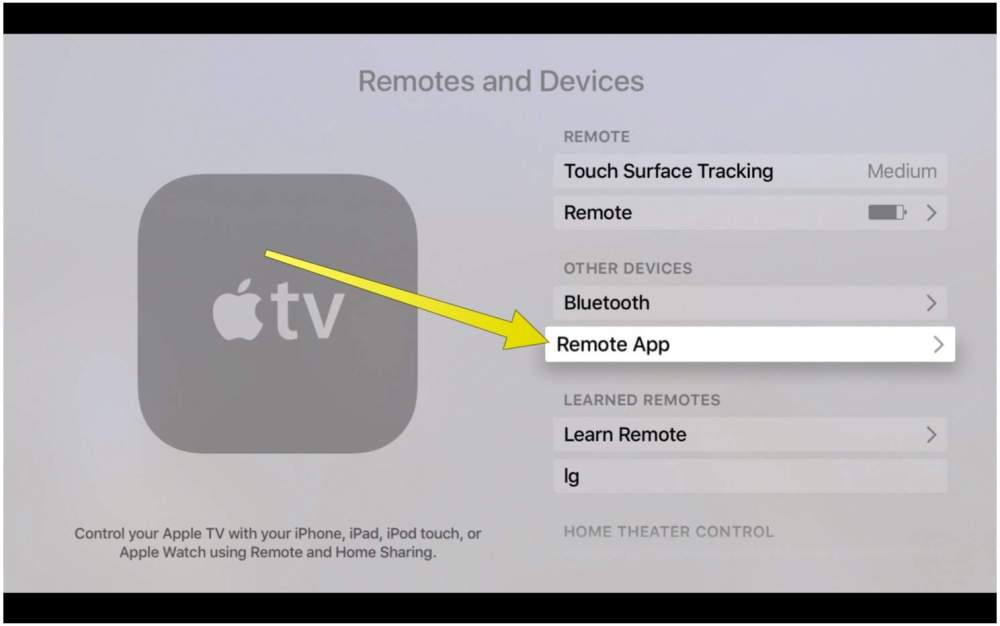medium resolution of adding a remote app to your apple tv