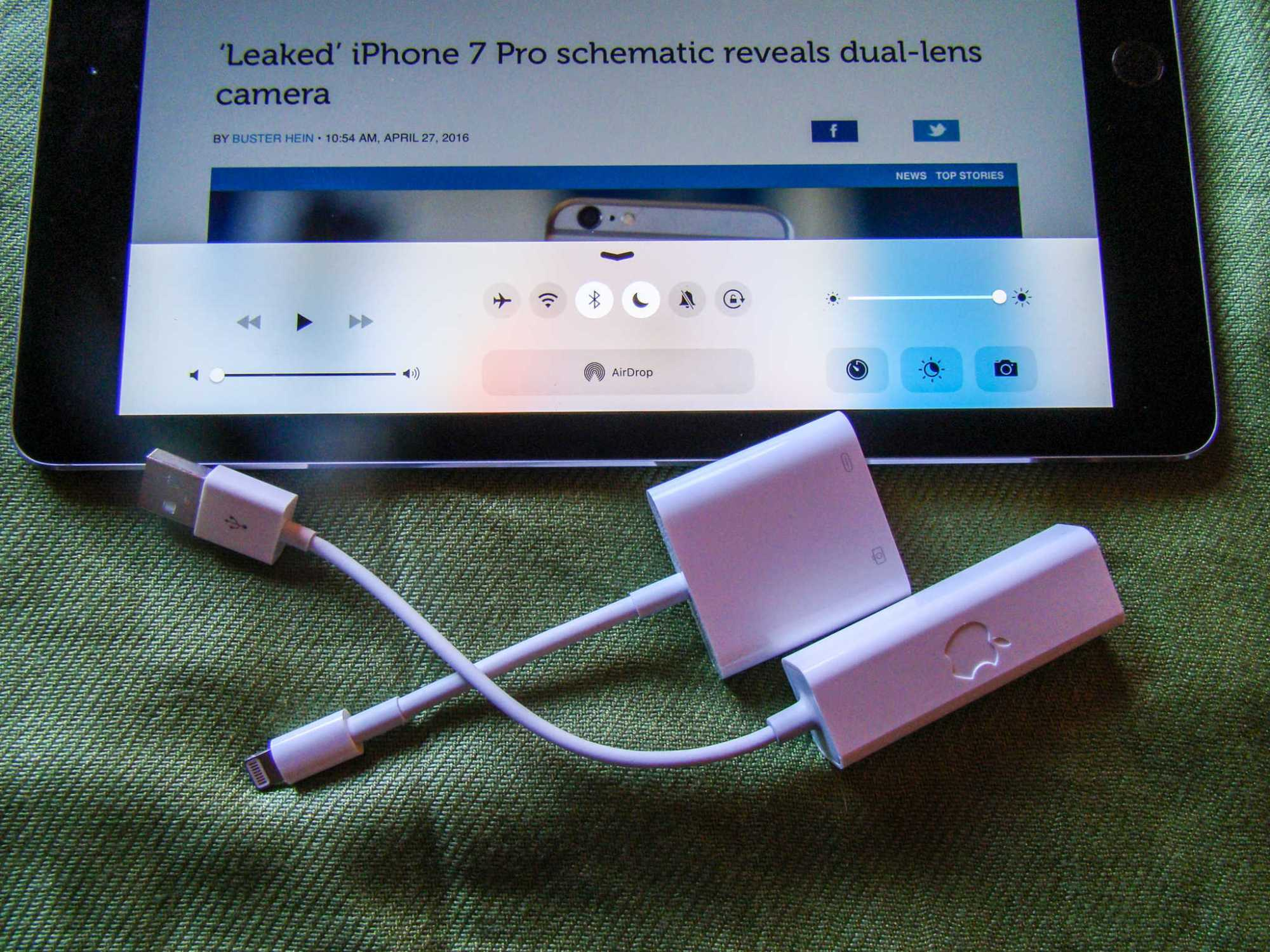 hight resolution of when wi fi is out use ethernet to get online with your ipad cult of mac