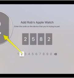 type in the code from your apple watch here [ 1486 x 932 Pixel ]