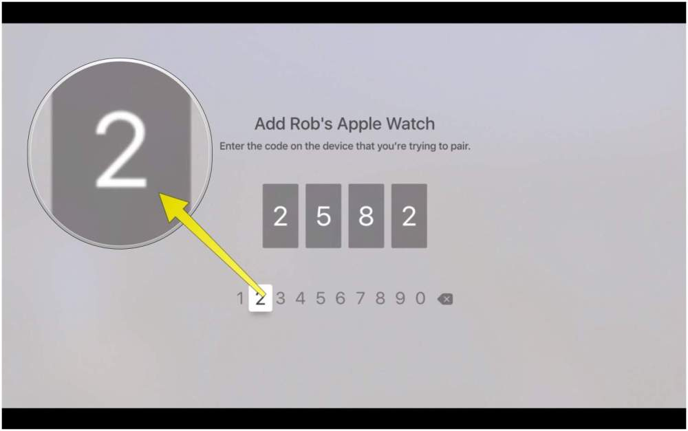 medium resolution of type in the code from your apple watch here