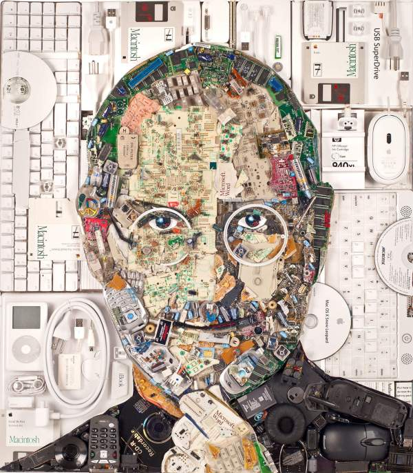 Steve Jobs Computer Part Art
