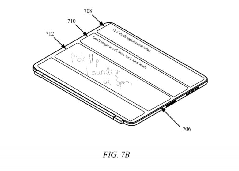 Next-gen iPad Pro cover may add sketchpad, secondary display