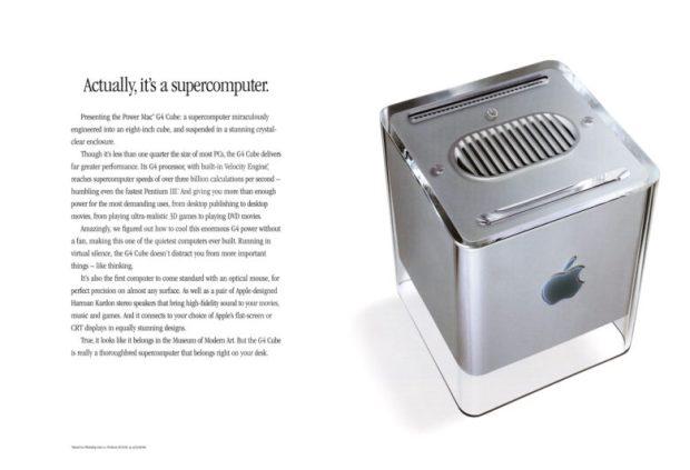 G4 Cube ad
