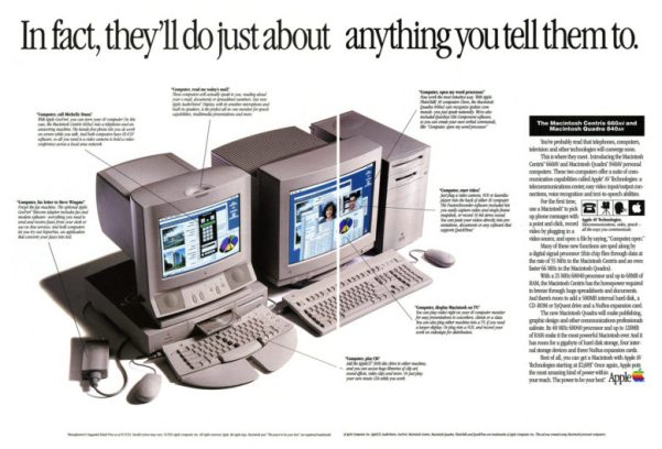 The Macintosh Centris 660av was astonishingly ahead of most rival computers at the time.